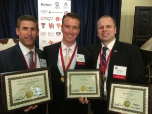 Texas business Hall of Fame scholarship recipients
