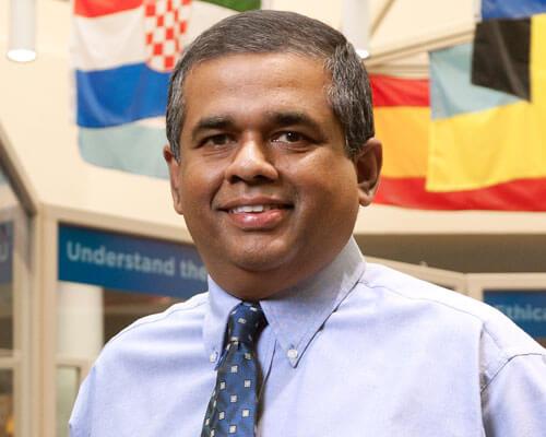 StMU Faculty Mathew Joseph