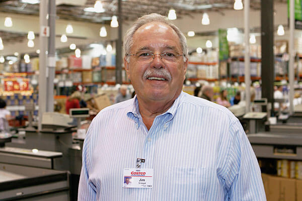 James Sinegal, co-founder and former CEO of Costco Wholesale