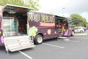 Mobile Mercado on campus Oct. 7, 2016.
