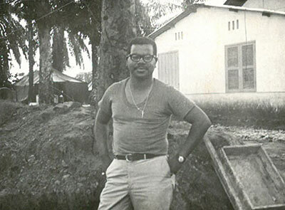 Louis Cousins during the Vietnam War.