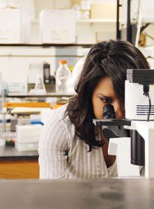 Loya in the laboratory