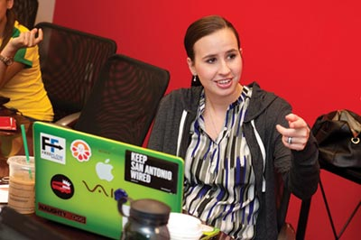 Meghan Garza-Oswald, MBA student