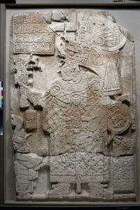 The stone carving Navarro-Farr unearthed