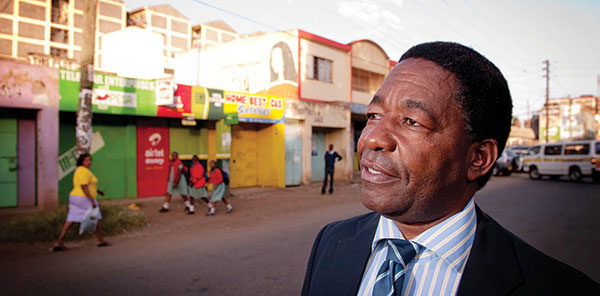 Wilson Guthungu uses faith to transform conflict in Kenya