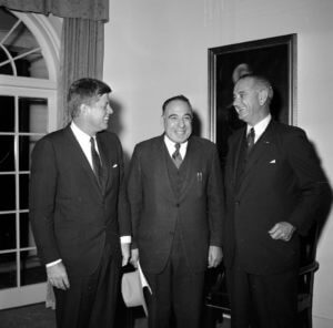 Henry B. Gonzalez with John F. Kennedy