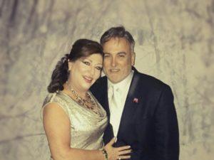 Claudia Fournier-Pena and Steven Pena