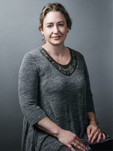 Associate Professor Angela Walch sits for a photo.
