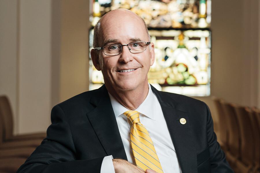 President Tom Mengler