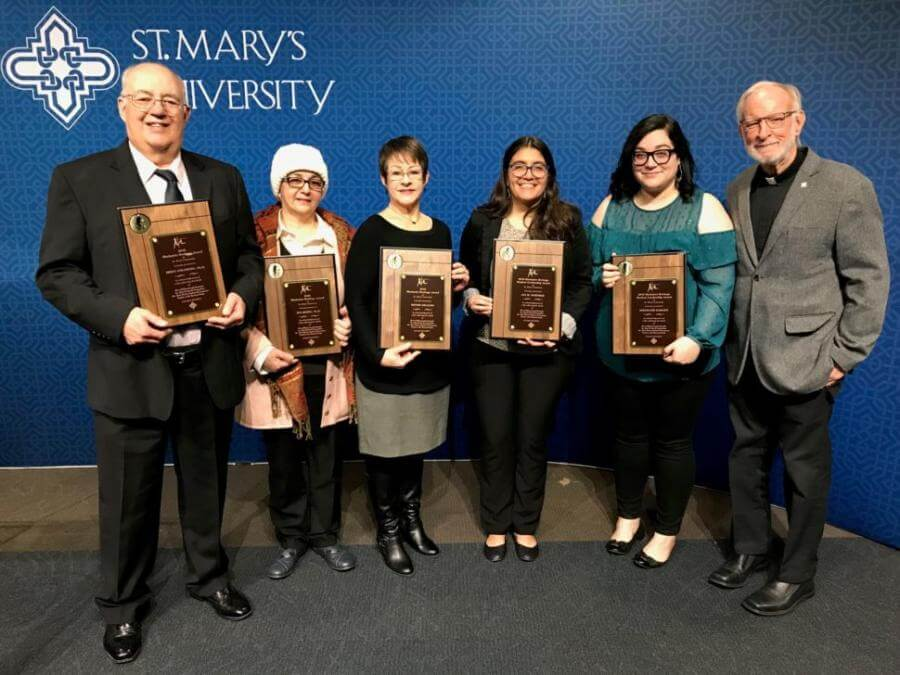 2018 Marianist Heritage Award recipients
