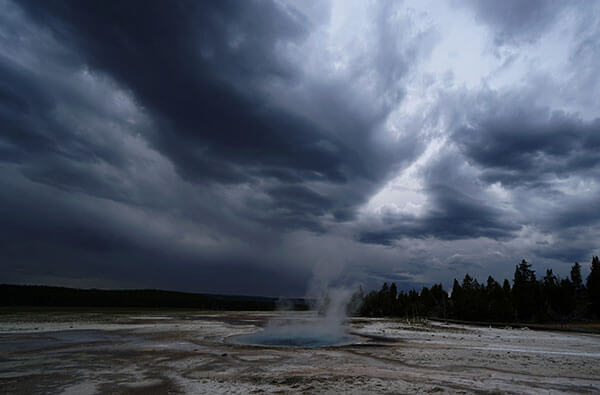 The Celestine Pool at Yellowstone.