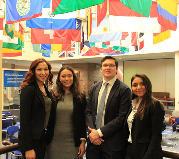 Business majors take third place at NIBS business plan competition.