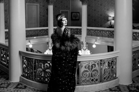 Hamilton-Brady as Pola Negri