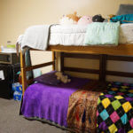 Bunk beds in Donohoo Hall