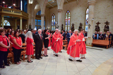 Members of the legal community and Catholic church celebrate Red Mass 2018 in San Fernando Cathedral.