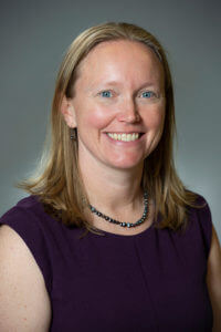 Amber McClung, Ph.D., Associate Professor of Mechanical Engineering