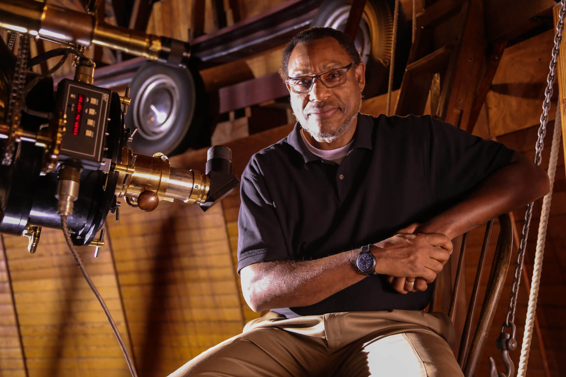 Derrick H. Pitts, Chief Astronomer and Planetarium Director, Franklin Institute Science Museum