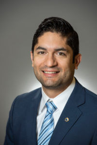 Matthew Mireles, D.M.A., B.A. '07, Chair and Associate Professor of Music and Director of Bands