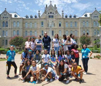 Girls Code summer camp