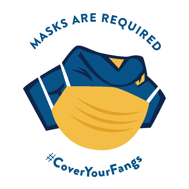 Masks are required - Cover Your Fangs