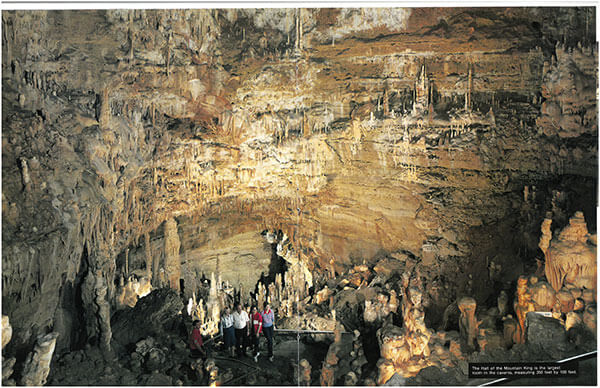 Courtesy photo of a spread of the Natural Bridge Caverns