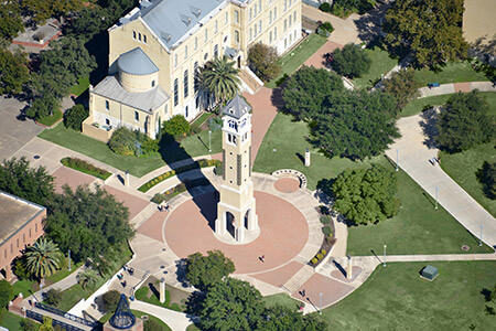 Bell tower from above