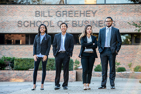 Greehey School of Business students