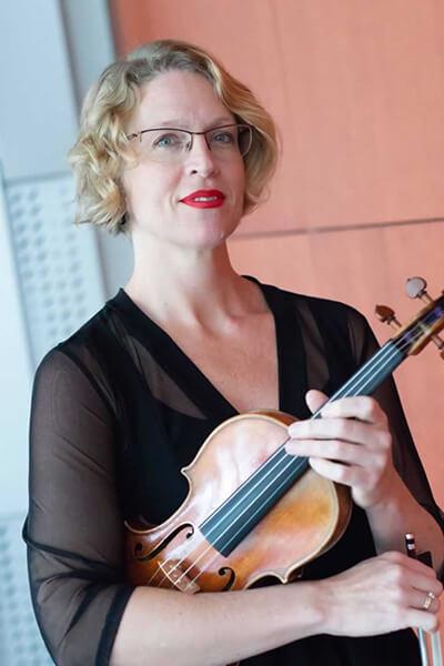 Renia Piotrowski-Shterenberg, Music Camp Instructor, Assistant Concertmaster, Violin, San Antonio Symphony