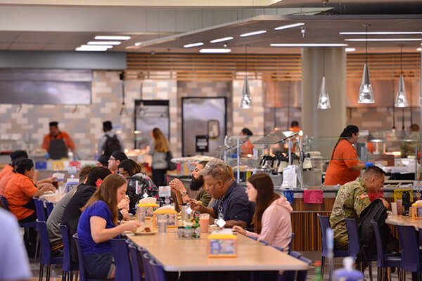 Diamondback Café on the St. Mary's Campus