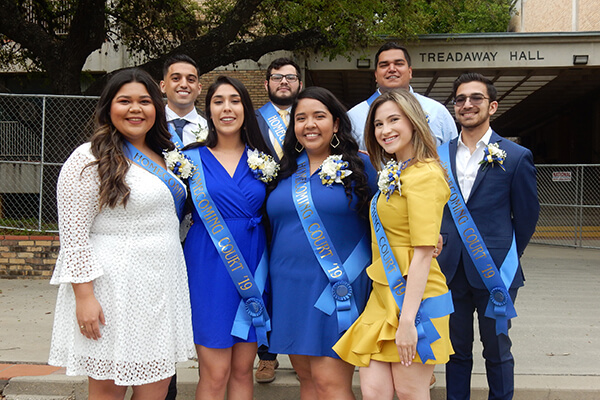 St. Mary's University Homecoming Court 2019
