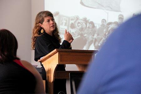Teresa Van Hoy history professor