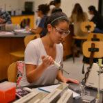 A St. Mary's University undergraduate studies biochemistry.