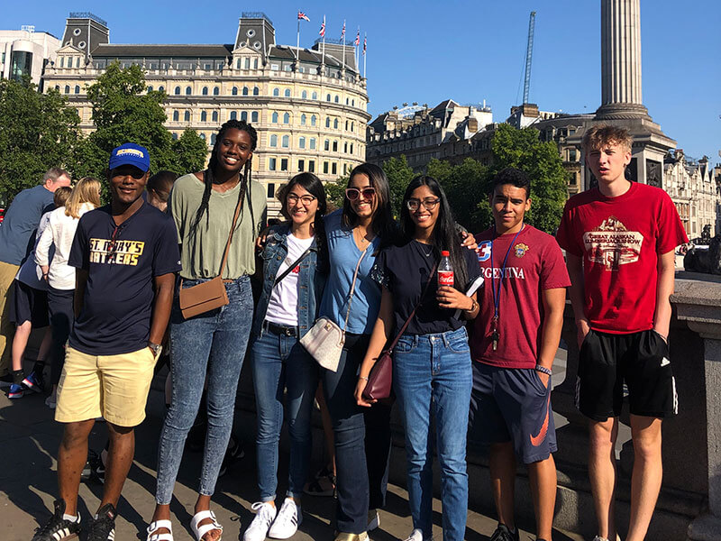 Honors Scholars on a study abroad trip