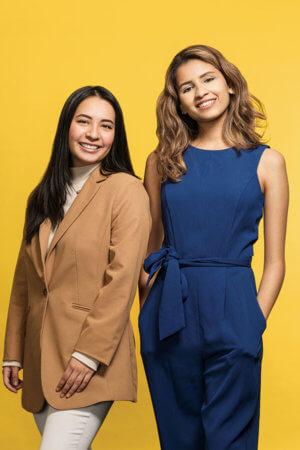 Sarah Nguyen and Aracely Ortiz