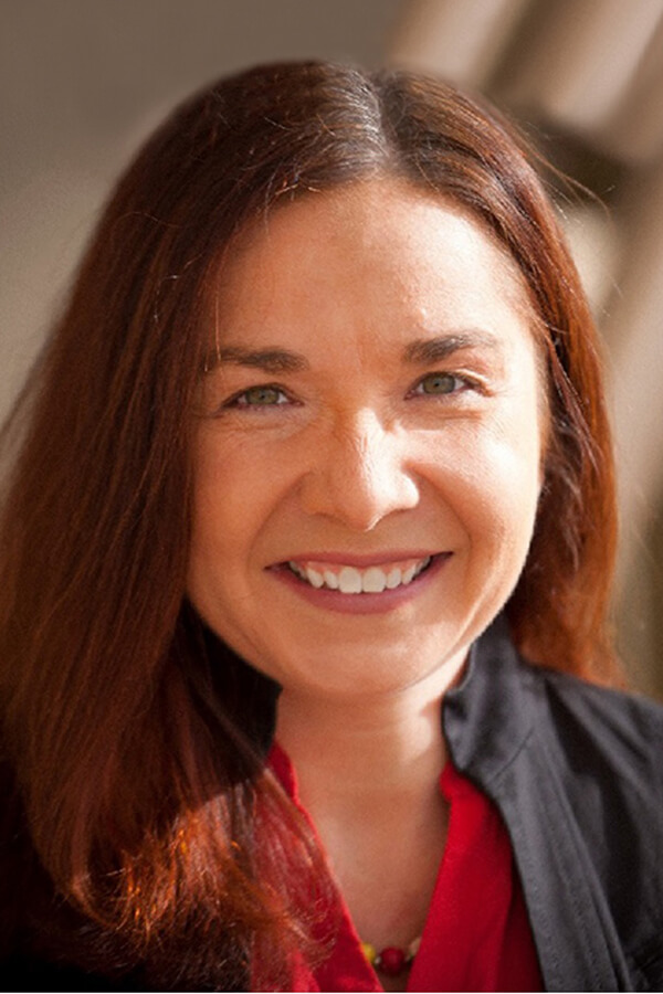 Headshot of Katharine Hayhoe, Ph.D., Climate scientist and Professor of Public Policy and Law at Texas Tech University