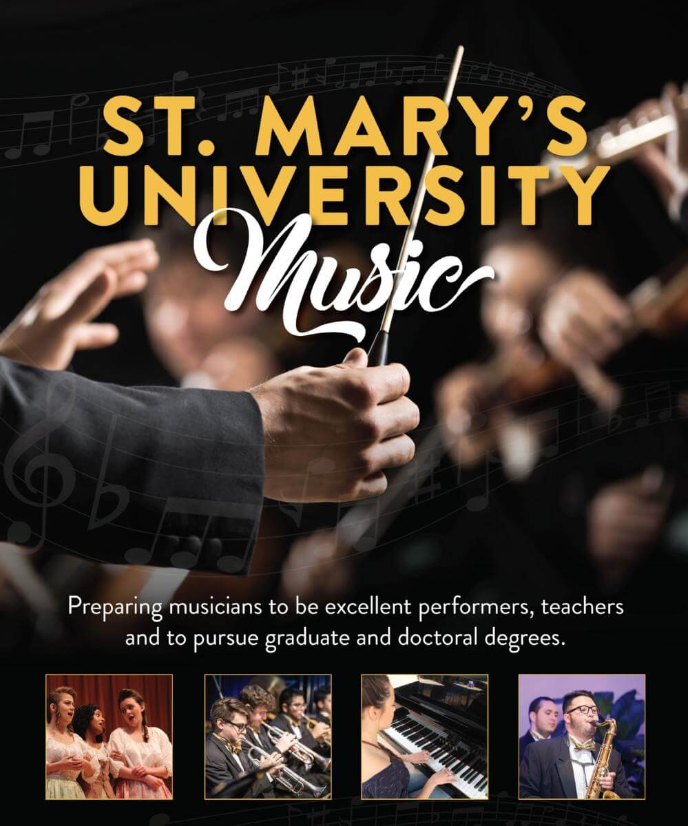 St. Mary's University music auditions