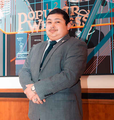 MBA student Nick Ramos featured